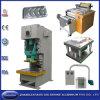 Chaîne de production de haute qualité de conteneur de papier d'aluminium