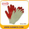Промышленная безопасность хлопок вязаный Латекс с покрытием работы перчатка ( 52101 )null