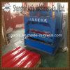 建築材料カラー形作る鋼鉄屋根瓦のパネルの版ロール機械を作る