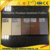 Profil en aluminium de guichet et de porte de glissement d'électrophorèse colorée