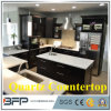 Countertops кварца взгляда мрамора светлого цвета толщины 20mm искусственние
