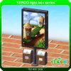 ライトボックス-スクローリングライトボックス-倍の側光ボックスLEDの印印ボードLEDスクリーン