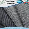 Tela cruzada del algodón del azul de añil que hace punto la tela hecha punto del dril de algodón para la ropa