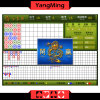 Traditionelle klassische Modelle/Baccarat-System für spielenden Tisch mit 22 Zoll-Resultats-Bildschirmanzeige Ym-Ec03