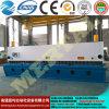 Macchina di taglio personalizzata 8*6000mm del piatto idraulico della ghigliottina di CNC