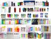 niedrigster Preis 6oz-28oz unbelegte Joyshaker Wasser-Plastikflaschen für Großverkauf