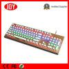 Nuevos teclado mecánico del juego 104 redondos profesionales de las teclas