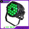 색깔 변경 IP65는 18X10W LED 동위 빛을 방수 처리한다