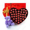 Коробка шоколада картона бумаги формы сердца Sweety
