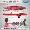 Nuevo diseño con cubierta de almacenamiento posterior kayak para la venta