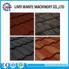 Tipos telha dos materiais de telhadura vários de telhado revestida do metal da pedra