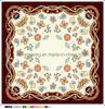 Écharpe en soie personnalisée par impression en soie de 100% Digital