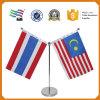 Дешевой сублимированный таможней флаг стола страны печатание