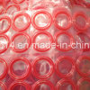 Joints circulaires en caoutchouc de joint de silicium rouge de silicium