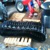 A borracha segue 400*90*47 para a ceifeira de liga de Kubota/maquinaria agricultural