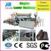 Tres rodillos de la máquina Sistema de Calendario HDPE Geomembrana Producción