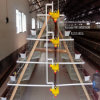 Jaula de acero del acoplamiento de alambre de la capa del tonel de la jaula del pollo en China