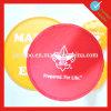 Многофункциональный складной подгонянный Frisbee резины логоса