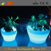 Flower Pot Lighting를 가진 Planting Pot 높은 쪽으로 LED Glowing Vase/LED Light