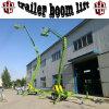 De Antenne die van Ariculating het Hydraulische Aanhangwagen Opgezette Platform van de Lift van de Boom werken