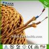 Lampen-Draht mit dem Stecker u. Schalter, kupferner Draht-Schönheits-Baumwolllicht-Draht beleuchtend schließen Kabel an (BYW)