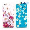Contraportada colorida del iPhone 6/6s TPU del modelo floral