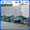 Display (LT-02E)の上のバンジーポーランド人Banner Stand Advertizing Roll