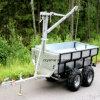 De Aanhangwagen van het Hout van /ATV van de Aanhangwagen van het Logboek ATV/de Aanhangwagen van het Landbouwbedrijf