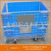 Faltende zusammenklappbare Transport-Rollenmaschendraht-Hochleistungsbehälter
