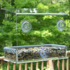 3 Suction Cupsの最もよいSeller Acrylic Bird Feeder