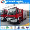 8000liters de Vrachtwagen van de Brandbestrijding van Isuzu van het water en van het Schuim Voor Verkoop