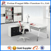 L Shape Popular Model Office Table con Drawer