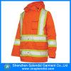 Revestimento reflexivo da segurança do desgaste por atacado da segurança da roupa do inverno
