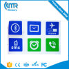 NFC Samsung 은하 S5 Nokia Nexus4 소니 LG HTC Xiaomi를 위한 지능적인 꼬리표 스티커 Ndef Ntag216 13.56MHz RFID 레이블