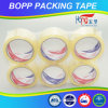 Cinta adhesiva estupenda cristalina del embalaje del claro BOPP de Hongsu