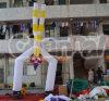 Aufblasbares gedreht Clown Air Dancer für Advertise