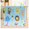 Weiches und schönes reagierendes Drucken-Baumwollflanell-Gewebe für Baby-Kleidung