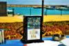 Chargeur portatif de norme européenne avec les places de publicité de remplissage et 2 du port 4USB
