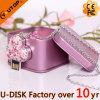 Clé de mémoire USB en cristal promotionnelle de cadeaux de compagnie (YT-6263L2)