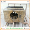 Granite popolare Prefab Bathroom Vanity Tops con Ogee Edge