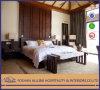 중국 해안 여가 호텔 가구 현대 고품질 오크 단단한 나무 호화스러운 침실 가구 고정되는 킹사이즈 베드