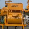 Mezclador concreto forzado eje caliente de la venta Jdc350 del solo