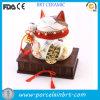 Decorazione fortunata giapponese Maneki di ceramica Neko del gatto