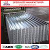 Hoja de acero acanalada galvanizada Az150 del material para techos del Galvalume