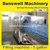 Ausrüstungs-/Glas-Wasser-füllende Linie der vollen automatischen Gallonen-3-5 füllende