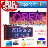 Outdoor P10 SMD LED Signs / Suporte Computador USB Programmablefor Full Color Display LED