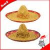 Chapéu de palha da forma, chapéu natural da grama, chapéu de Sun
