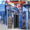 Limpieza de la estructura de acero popular en máquina del chorreo con granalla de China