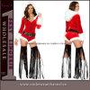 Combinaison sexy de ventes de costume de bonhomme de neige théâtral chaud de Noël (5277)