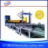 La fabbrica direttamente fornisce la macchina resistente di taglio alla fiamma del plasma di CNC per il grande tubo rotondo